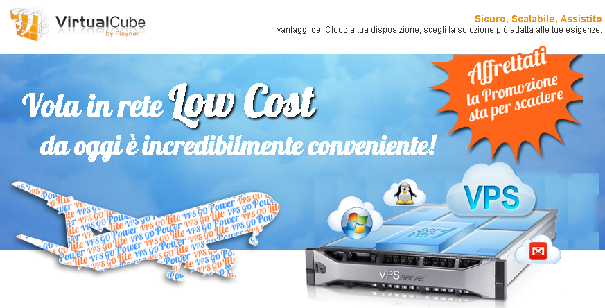 Acquisto VPS Vmware Cloud Hosting Italiano